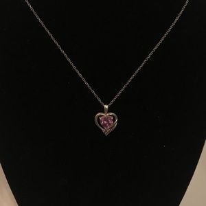 Amethyst Heart Pendant 💜